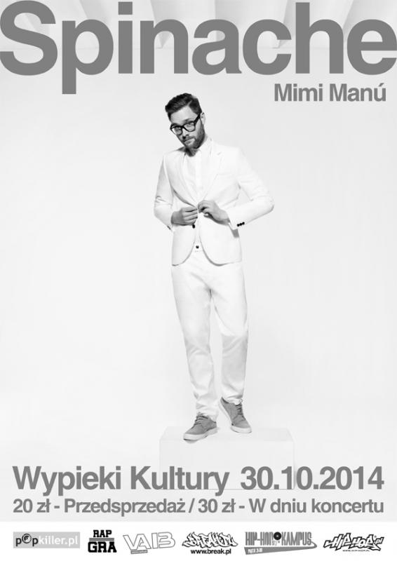 Spinache Premierowy Koncert Wypieki Kultury 30 10 2014 Warszawa