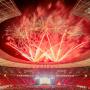 Lollapalooza Berlin 2019 Stadion Olimpijski w Berlinie fajerwerki