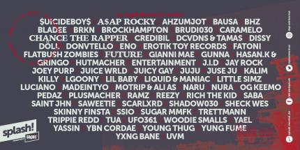 Prawie kompletny line up splash! Festivalu