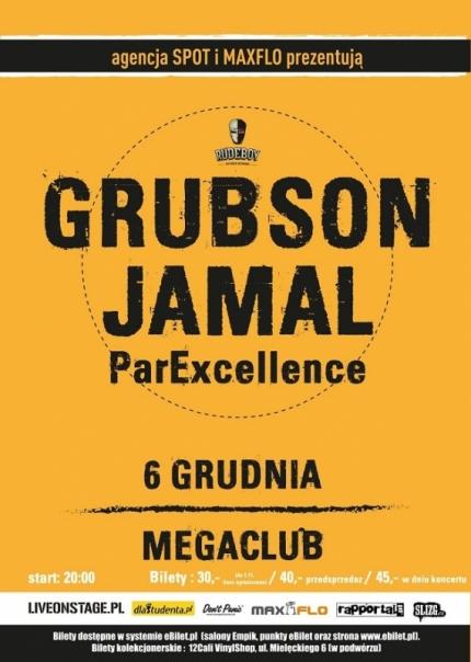 Grubson x Jamal live band | Katowice | MegaClub | 6.12.2013 | ParExcellence