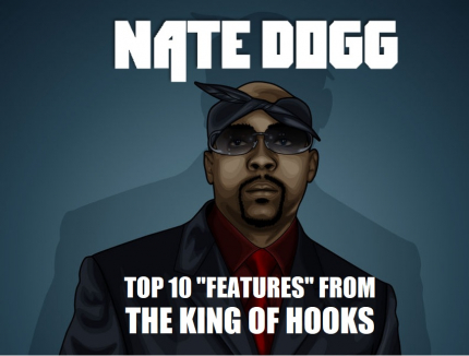 Nate Dogg Top 10 Best features Guest Appearances