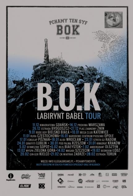 B.O.K - Labirynt Babel Tour