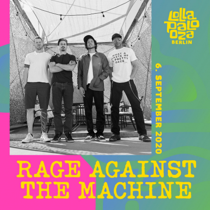 Rage Against The Machine pierwszymi headlinerami Lollapaloozy Berlin!